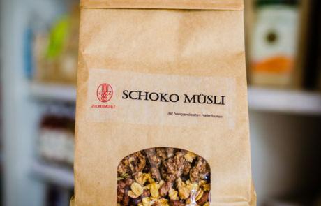 Regionale Lebensmittel - Schoko-Müsli von Zuckermühle